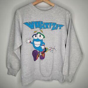 Vintage Whatizit 1996 Atlanta Olympics Mascot Gray Sweater Men's Size Medium