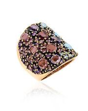 Pasquale Bruni Mandala 18k Rose Gold And Amethyst Ring Sz 6.75 14159RN-14