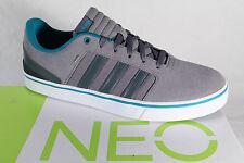 Adidas Zapatos de Cordones Zapatillas Deportivas Hawthorn St Cuero Gris Nuevo