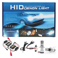 HID Xenon Headlight Conversion Kit Slim Ballast H4 9003 Low-Hi Beam 3200LM 6000K
