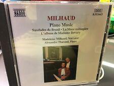 CD  MILHAUD Piano Music Saudades do Brazil  La Muse menagereL'album de Madame