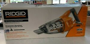 RIDGID R860902B Cordless Hand Vacuum with Crevice Nozzle (Tool Only)