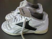 Reebok Kinderschuhe Turnschuhe Gr. 30,5 Sneakers Sportschuhe Weiß, schön