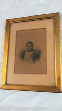 gravure ancienne Napoleon. Antique Napoleon engraving
