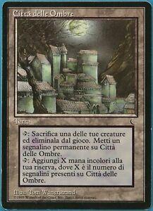 City of Shadows The Dark (ITALIAN) HEAVILY PLD Land Rare CARD (190543) ABUGames