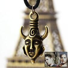 1pcs Supernatural Jensen Ackles Dean Winchester Amulet evil talis necklace CGYG
