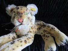 Steiff Original Leopard Made in Germany Original Tags Marble eye Tiger Ear tag