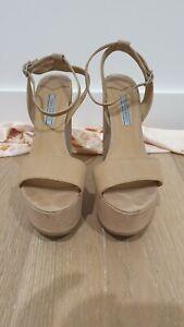 Kookai Platform Shoe - Beige - Size 7