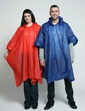 Staydry Deluxe PVC Waterproof Reusable Rain Poncho - High Qualität for Festivals