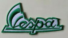 VESPA SCOOTER MOD-  DARK GREEN- SIGNATURE -Sew on Iron on Embroidered- Patch