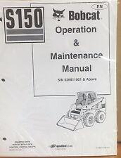 Bobcat S150 Skid Steer Operation & Maintenance Manual Operator/Owners 2 #6902684