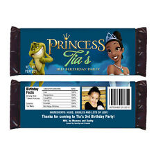 12 The Princess Frog Movie Birthday Party Favors Personalized Candy Wrappers