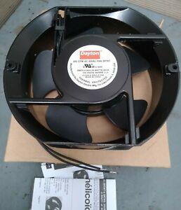 "Dayton 2RTK7 115V Ac single phase, 200 Cfm, 5 15/16"" wide Ball Bearing Axial Fan"