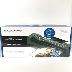 Vupoint Solutions Magic Wand Portable Scanner w/ Color LCD Display and Dock