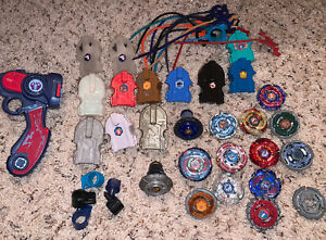beyblade lot Mostly metal With Extras LQQK!!!