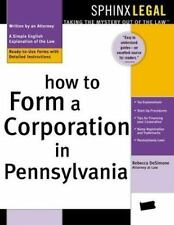 How to Form a Corporation in Pennsylvania