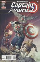 Captain America Comic 9 Sam Wilson Cover A First Print 2016 Nick Spencer Marvel