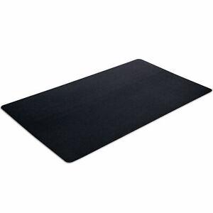 VersaTex Fitness 36 x 60 Inch Pebbled Texture Protective Equipment Mat, Black