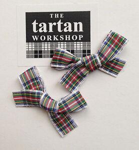 DRESS STEWART TARTAN BOWS (10mm RIBBON)