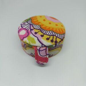 Vera Bradley Little Keepsake Pill Jewelry Box Multiple Patterns NEW
