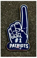 New England Patriots NFL Team American Football Foam Finger Pin Badge