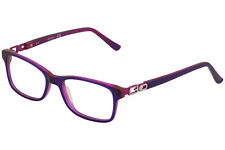 Guess Girl's Youth Eyeglasses GU9131 GU/9131 056 Violet/Pink Optical Frame 49mm