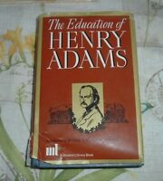 c1970s THE EDUCATION OF HENRY JAMES Bostonian Autobiography /DJ Modern Library