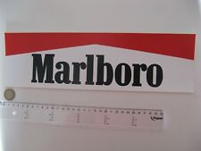 AUTOCOLLANT MARLBORO LONG STICKER AUFKLEBER FORMULE1 RACING TEAM RARE DECAL USA