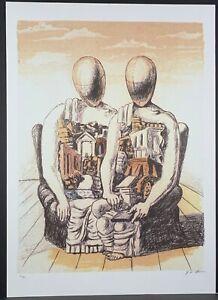 GIORGIO DE CHIRICO * 50 x 70 cm * signed lithograph * limited # 60/90