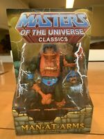 MOTUC,MOTU,MAN-AT-ARMS,MASTERS OF UNIVERSE,CLASSICS,Sealed
