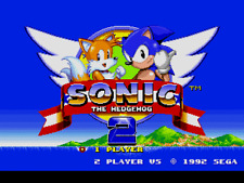 Sonic The Hedgehog 2 - Sega Genesis Game Only