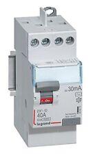 Inter Différentiel 2p40a 30ma Type AC Vis/vis Legrand 411611