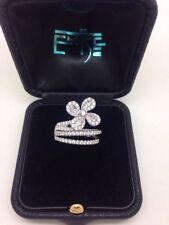 M & M Natural White Gold Fine Diamond Rings