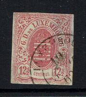 Luxembourg - SC# 8 - Used (Right Side Thin) - 053016