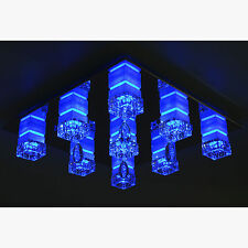 """LED Deckenlampe Deckenleuchte Lampe """"adriana"""" Fernbedienung RGB leuchte Licht"""