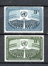 United Nations Stamp set MNH unmounted mint A3