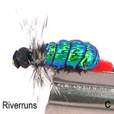 Realistic FLASHBACK WITCH Flies Trout Super Sturdy Flies real insect From Europe