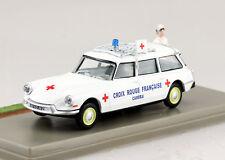 Citroen ID 19 Break Rettungswagen Ambulanz Diorama 1:43 Altaya Modellauto
