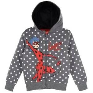 Miraculous Girls  Sweatjacket Hoodie Zipper Ladybug