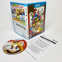 Super Mario 3D World Nintendo Selects Wii U 2016 CiB Complete TESTED WORKS