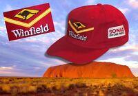 Baseball Cap / Baseball Kappe - WINFIELD Logo & Känguru Schild - Australien Shop