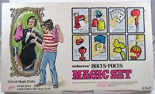 Adam's Hocus Pocus Magic Set 11 Great Tricks Vintage 1975