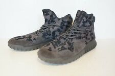 Adidas Tubular Grey Camouflage Hi-Top Boots (UK Size 12.5)