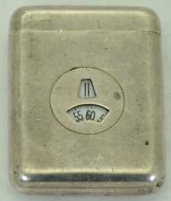 Digital Silver Purse Watch c1930 Extremely Rare Art-Deco Clarte For Hermes