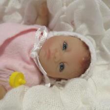 """Precious Ashton Drake Silicone Vinyl Type 4-1/2"""" Micro-Preemie Newborn Baby Doll"""