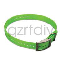 Green strap waterproof for Garmin GPS DC40 dog tracking collar astro 220 / 320