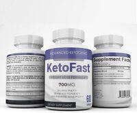 Keto Fast - 700MG - BHB Ketone Formula - 3 Month Supply