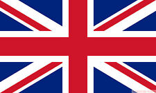 """UNION JACK GREAT BRITAIN 18"""" x 12"""" FLOOR STANDING FLAG & WOODEN BASE"""