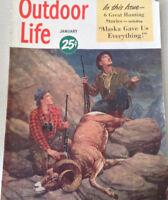 Outdoor Life Magazine Alaska Gave Us Everything January 1950 080517nonrh