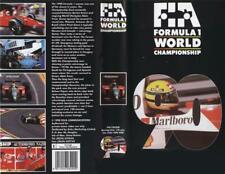 GENUINE AUTHENTIC F1 1990 REVIEW VHS FORMULA ONE OFFICIAL REVIEW VIDEO